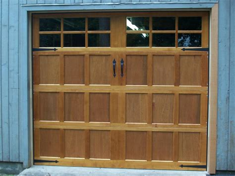 wood garage door prices home depot