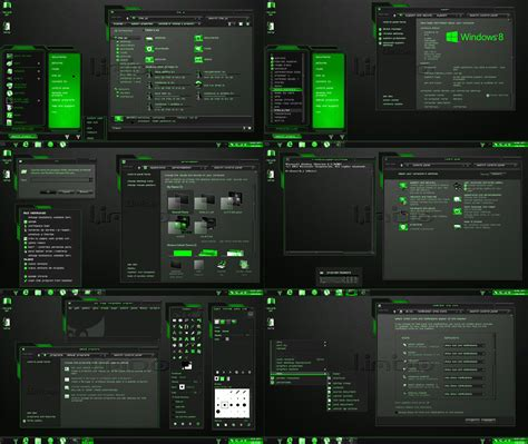 theme windows 8 1 cosmo windows 8 1 theme green limbo by tono3022 on deviantart