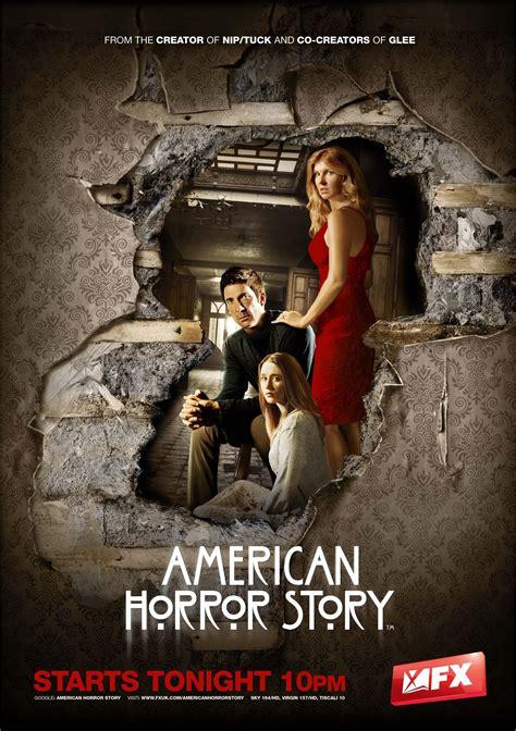American Horror Story Murders House by American Horror Story Affiches Affiche American Horror Story Saison 1 Murder House Scifi