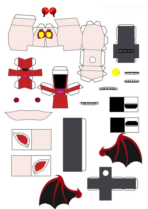 Papercraft World - fnaf world xangle papercraft part1 by jackobonnie1983 on