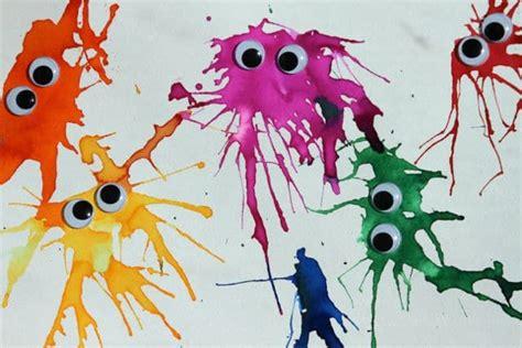 Weihnachtsbasteln Mit Kindergartenkindern 5897 by Basteln Mit Kindern Wasserfarbenmonster Handmade Kultur