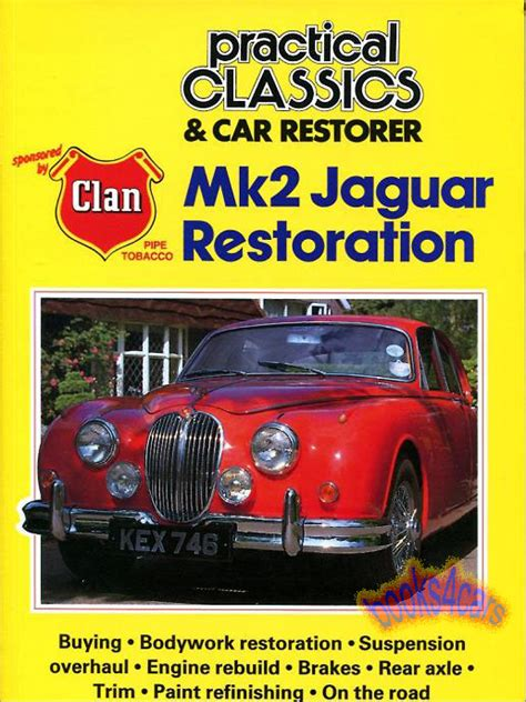 books about how cars work 2000 jaguar s type windshield wipe control jaguar mk2 restoration book practical classics car restorer manual mk 2 mkii ii ebay