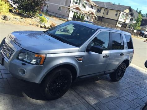custom land rover lr2 2008 land rover lr2 se w custom painted black rims and
