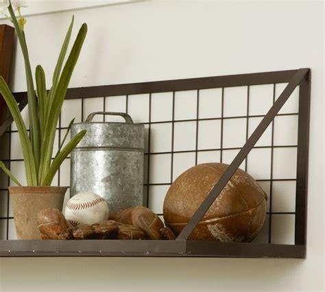 kellan wall mount shelf industrial display and wall