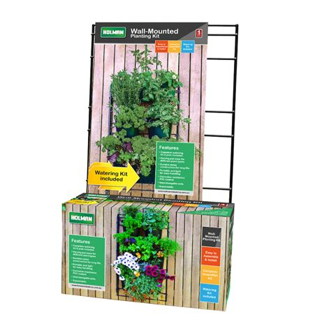 Holman Greenwall Vertical Garden Kit Bunnings Warehouse » Home Design 2017