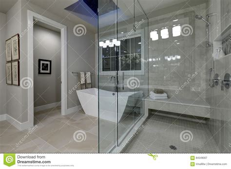 Modern Architecture House Floor Plans by Amazing Master Bathroom With Large Glass Walk In Shower