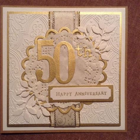 Handmade 50th Anniversary Gifts - 17 best ideas about 50th anniversary cards on