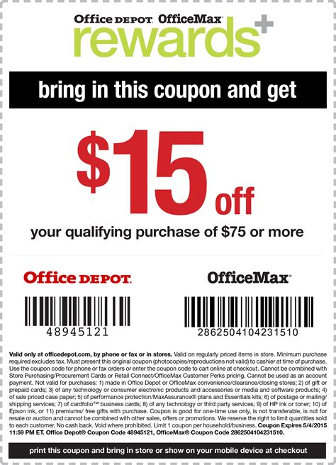 Office Depot Coupons Discounts Office Depot Coupons 10 50 At Office Depot