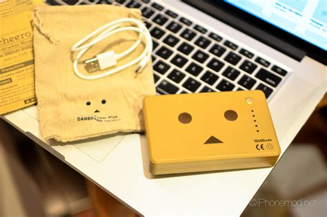 Power Bank Lucu Dan Unik ร ว ว cheero power plus danboard 10 400 mah ต วใหม ใหญ จ