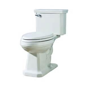 lowes bathroom toilets shop aquasource tristan white 1 28 gpf 4 85 lpf 12 in