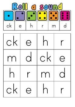 printable sound dice this engaging activity is great for subitising and