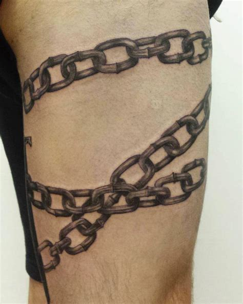 chain wrist tattoos chain images designs