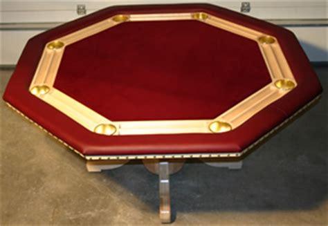 Pedestal Merlot Build Your Eight Position Custom Poker Table