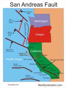 california fault line map cataclysmic california quake warned could be just weeks away