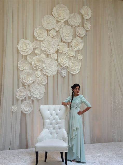 design flower for wall flower wall for wedding by maret designs my design