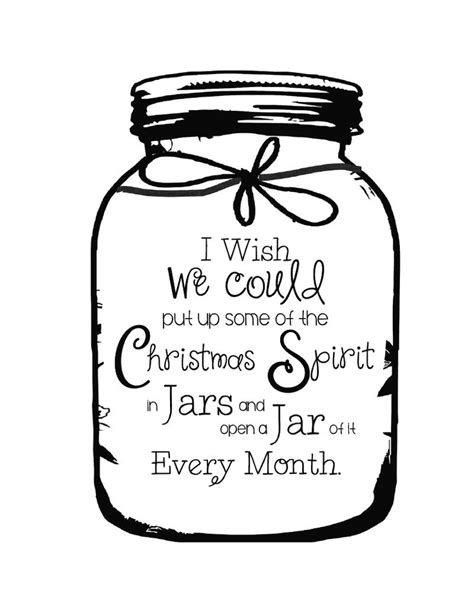 printable quotes for jars printable christmas quotes quotesgram