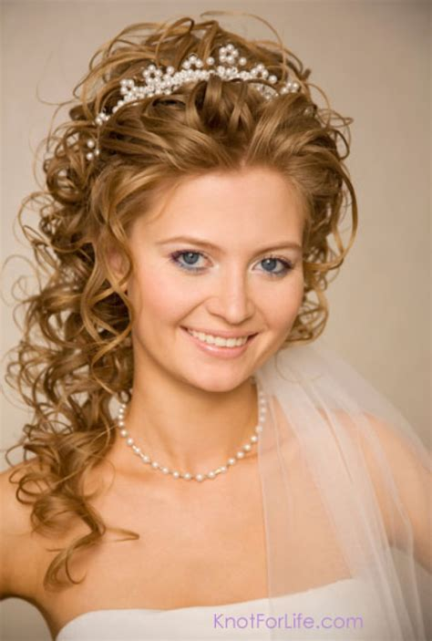 Wedding Hairstyles Knot by Wedding Hairstyles With Veils And Tiaras Knot For