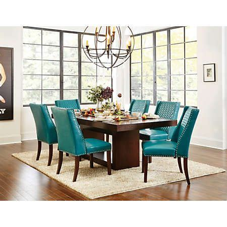 teal dining room furniture 24 best mix and match dining images on pinterest art van