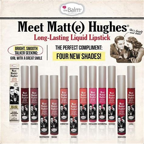 The Balm Meet Matte Hughes Mini Kit Ori Usa 100 Best Seller the balm meet matt e hughes in one click beautyhaul makeup store
