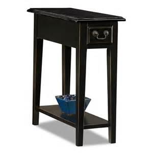 leick furniture 9017 slsl favorite finds side table in slate