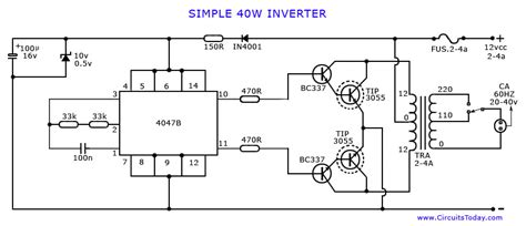 6v to 220v inverter circuit diagram inverter circuit page 3 power supply circuits next gr