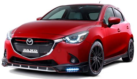 Spoiler Calya Breakl mazda 2 and cx 3 fitted with damd kits in japan