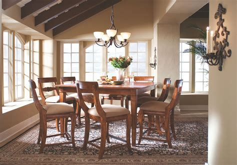 tuscano counter height table dining room set from