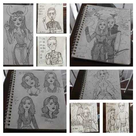 sketchbook marvel marvel sketchbook sketch dump by mitchie98 on deviantart