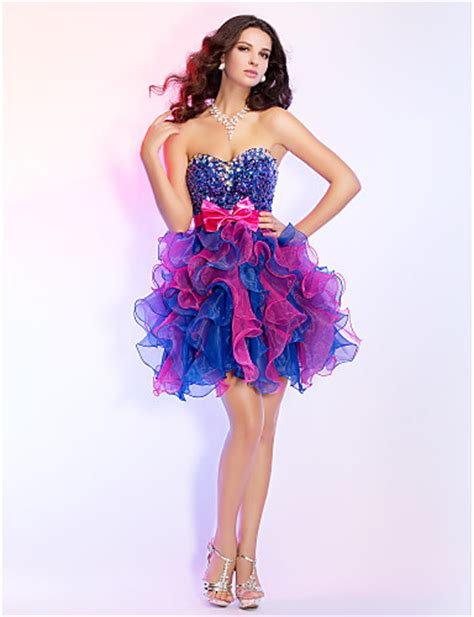 colorful prom dresses best of prom dresses styler