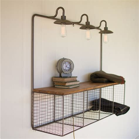 wire cubby w lights cq7106