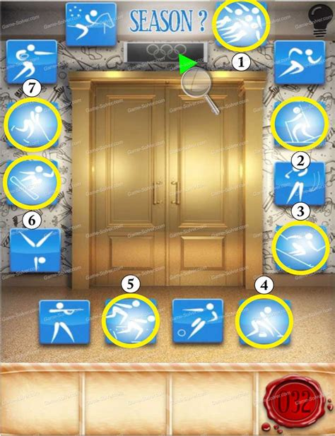 100 doors seasons 100 doors seasons part 1 level 32 game solver