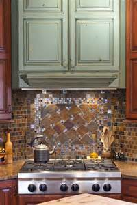 Multi Colored Backsplash - multi colored glass tile backsplash my homedsgnaa