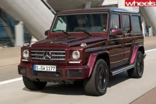 Mercedes G Class 500 2016 Mercedes G500 Review Wheels