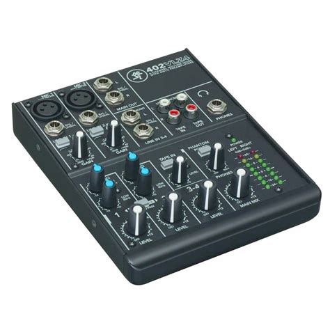Mixer Mackie 4 Chanel mackie 402vlz4 4 channel ultra compact mixer idjnow