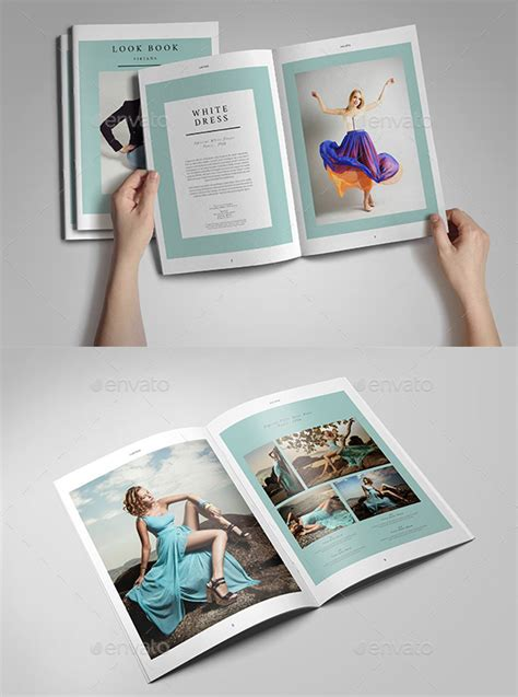 20 gorgeous indesign lookbook template designs web