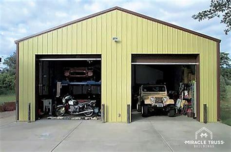 easy assemble diy metal garage  shop miracle truss