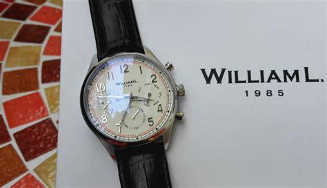 Test : les montres William L.1985   Montre & Accessoires