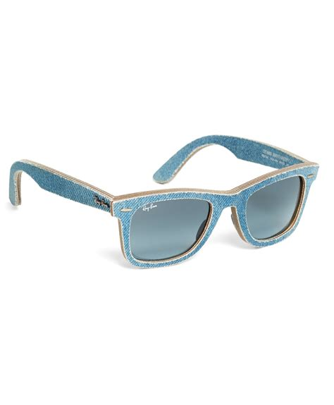 Blue Light Glasses by Brothers Ban 174 Wayfarer Light Blue Denim