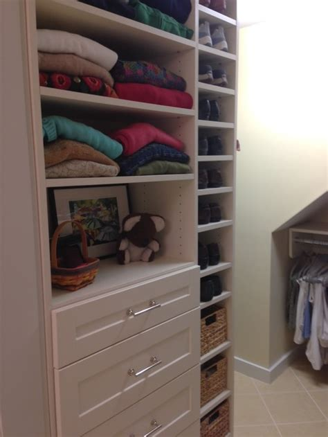 Closets By Design Reno by Before After Small Master Bath Closet Reno