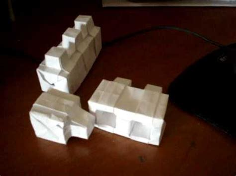 How To Make Paper Bricks - origami legos