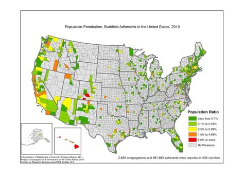 how many towns are in the us map buddhists in america democratic underground