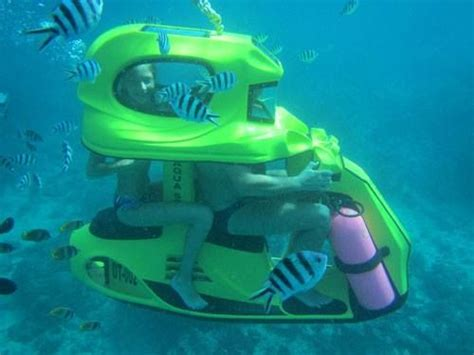 water scooter driving ride an underwater scooter in bali scuba diving