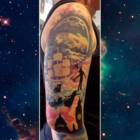 neverland tattoo pan to neverland disney disney every day