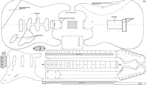 stratocaster template strat da ara guitars search