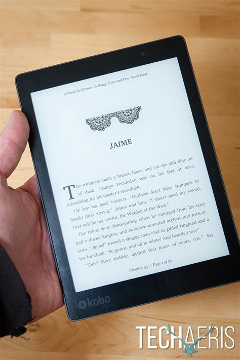 one review kobo aura one review a large waterproof ereader with