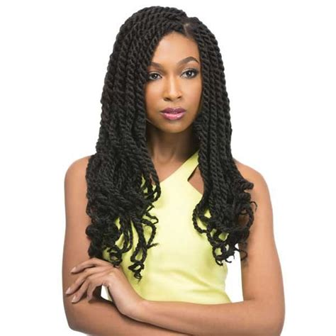 crochet hairstyles with xpression hair outre x pression crochet braid cuevana twist braid 18 inch