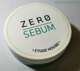 Harga Innisfree Zero Sebum byutireviu etude house s zero sebum drying powder