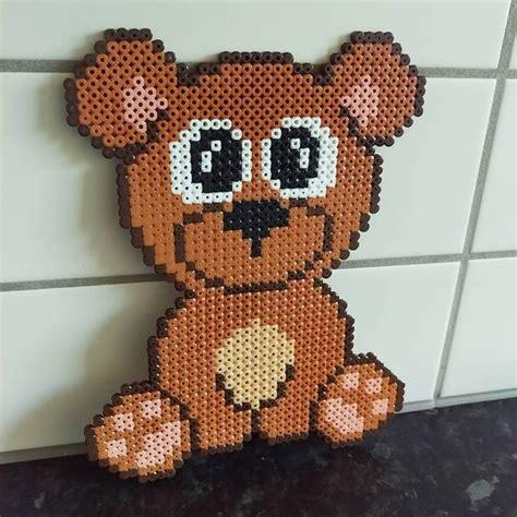 pattern bear pinterest bear hama beads by frk freja pattern by anja takacs