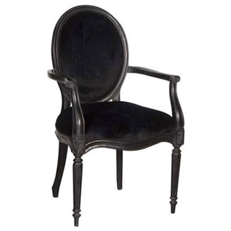 dining chair black velvet ten and a half thousand things