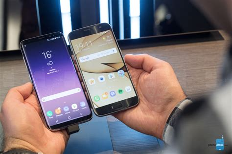 Samsung S8 S7 Samsung Galaxy S8 Vs Galaxy S7 Comparison And Differences